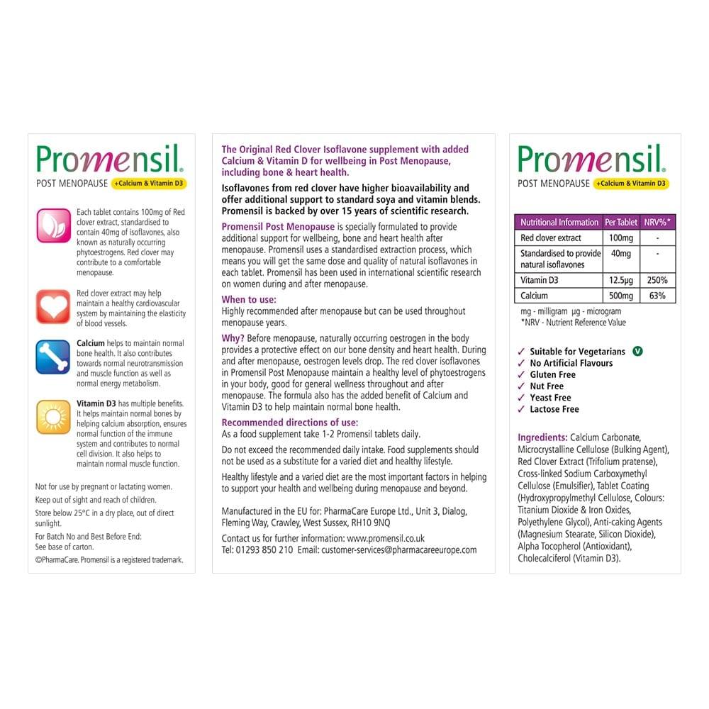 Promensil Post Menopause Pack