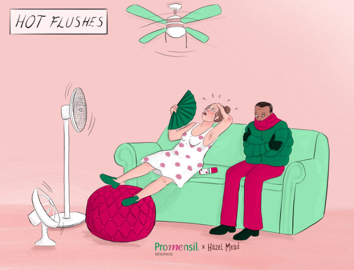 hot flush menopause